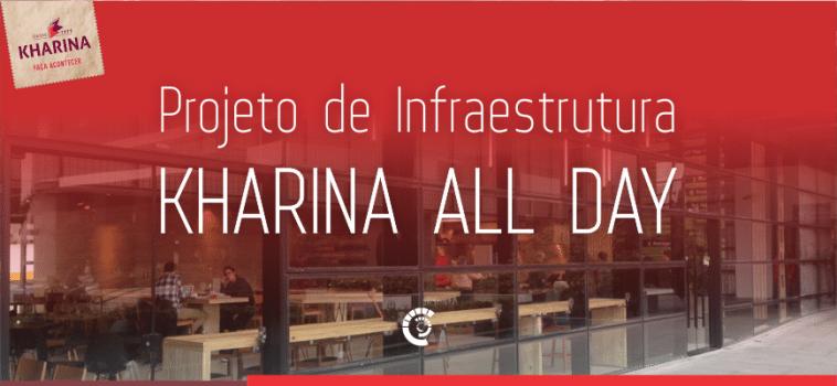 Projeto de Infraestrutura do novo restaurante Kharina – All Day